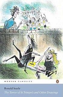 St Trinians School British gag cartoon comic strip series