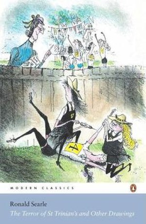 Modern Classics reissue of Ronald Searle's St Trinian's drawings