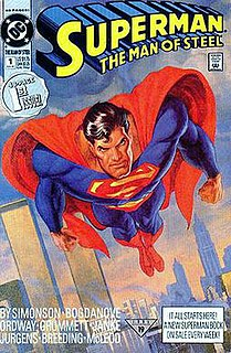 <i>Superman: The Man of Steel</i> Comic book series by DC Comics (1991-2003)