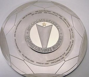 Supporters' Shield - Image: Supporters' Shield trophy