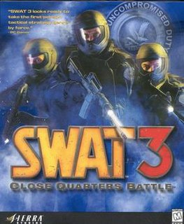 <i>SWAT 3: Close Quarters Battle</i> 1999 video game
