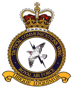 No. 90 Signals Unit RAF - TCW Crest