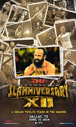Slammiversary XII - Promotional poster featuring Eric Young