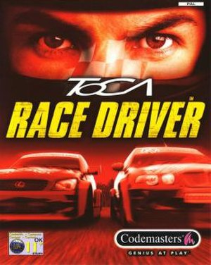 TOCA Race Driver - Image: TOCA Race Driver cover