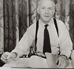 Terence Patrick O'Sullivan - Dr T P O'Sullivan about 1966 at his desk in Queen Anne's Gate, Westminster