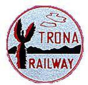 Trona Railway - Image: TR Clogo