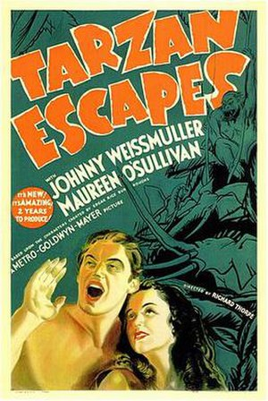 Tarzan Escapes - Theatrical release poster