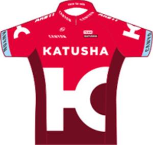 Katusha–Alpecin - Image: Team Katusha jersey