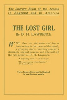 <i>The Lost Girl</i> book by D.H. Lawrence