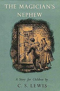 <i>The Magicians Nephew</i> Childrens fantasy novel by C. S. Lewis, 1955