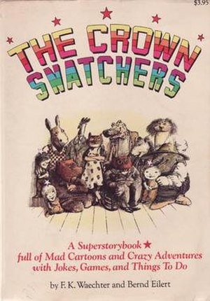 The Crown Snatchers - Cover of first edition (softcover)