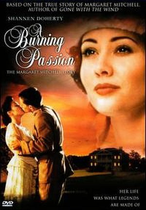 A Burning Passion: The Margaret Mitchell Story - DVD cover