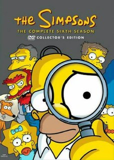 <i>The Simpsons</i> (season 6) Episode list for season of animated series