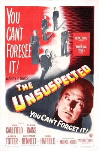 The Unsuspected - Theatrical release poster