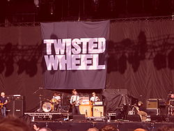 Twisted Wheel supporting Oasis at Heaton Park in Manchester June 2009