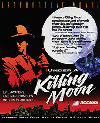 Under a Killing Moon - Cover art