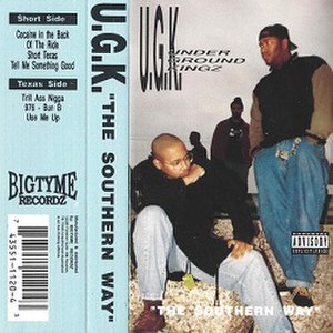 The Southern Way - Image: UGK The Southern Way
