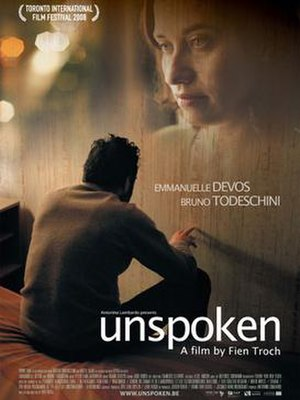Unspoken (film) - Theatrical release poster