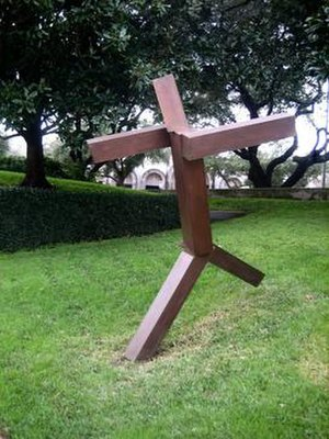 Joel Shapiro - Joel Shapiro, Untitled, bronze, 1990, Museum of Fine Arts, Houston