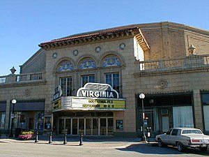 Champaign–Urbana metropolitan area - The Virginia Theatre in Downtown Champaign.