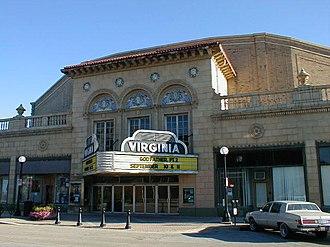 Champaign–Urbana metropolitan area - The Virginia Theatre in Downtown Champaign.