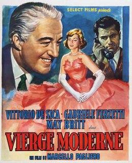 <i>Modern Virgin</i> 1954 film by Marcello Pagliero