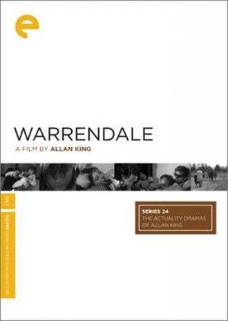 Warrendale - Image: Warrendale Film Poster