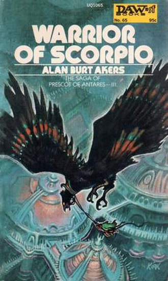 Warrior of Scorpio - Cover of first edition