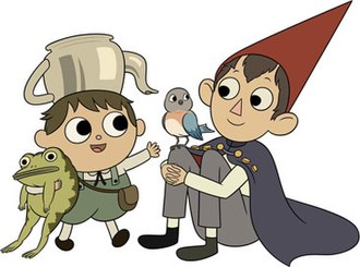 Over the Garden Wall - Greg and Wirt, two half-brothers who act as the miniseries' main protagonists, along with Beatrice the bluebird and Greg's pet frog.