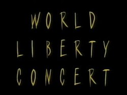 World Liberty Concert logo, as broadcasted live May 1995.jpg