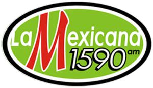 "XEVOZ-AM - XEVOZ logo from 2010-16 as ""La Mexicana"""
