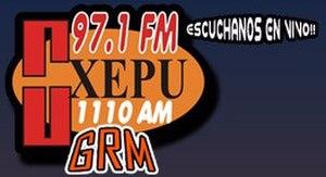 XHPU-FM - Image: XHPU GRM97.1 logo