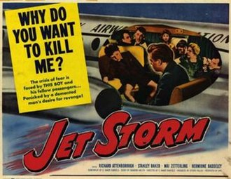 Jet Storm - Lobby card