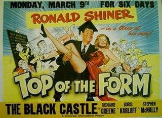 <i>Top of the Form</i> (film) 1953 British film