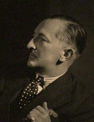 H. C. McNeile - McNeile, 1930s  Portrait by Howard Coster