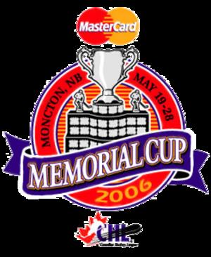 2006 Memorial Cup - Image: 2006 memorialcup