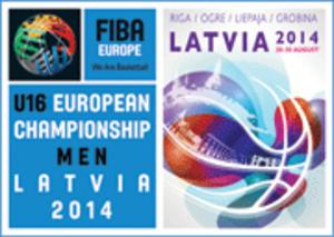 2014 FIBA Europe Under-16 Championship - Image: 2014 FIBA Europe Under 16 Championship logo