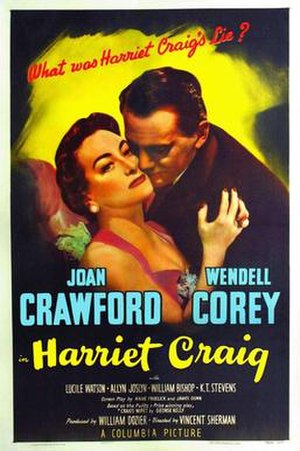 Harriet Craig - Original Film Poster