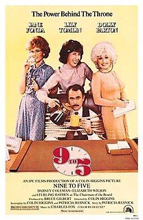 <i>9 to 5</i> (film) 1980 American comedy film directed by Colin Higgins