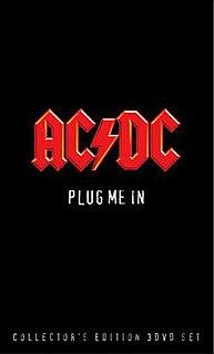 <i>Plug Me In</i> 2007 video by AC/DC