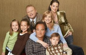 According to Jim - The cast of According to Jim.