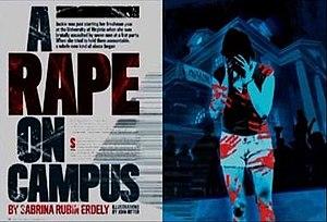 A Rape on Campus - Image: A Rape on Campus