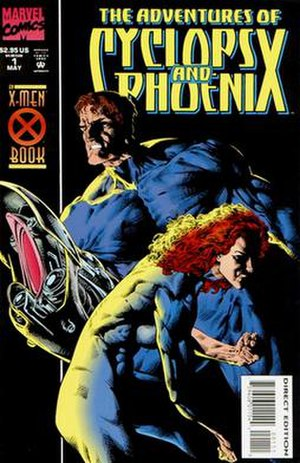 The Adventures of Cyclops and Phoenix - Cover of the 1st issue