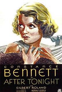<i>After Tonight</i> 1933 film