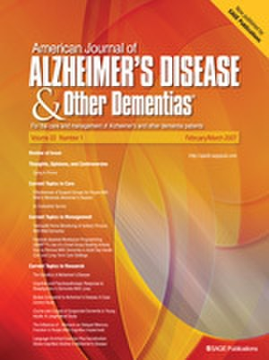 American Journal of Alzheimer's Disease & Other Dementias - Image: American Journal of Alzheimer's Disease & Other Dementias