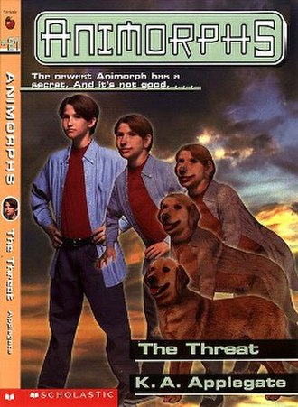 The Threat (novel) - Jake morphing into a Golden Retriever