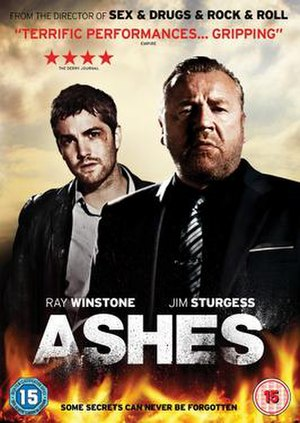 Ashes (2012 film) - DVD cover