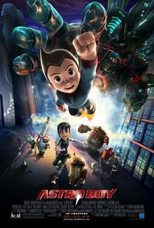 Astro Boy (film) - Theatrical release poster