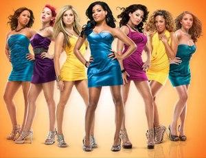 "Bad Girls Club (season 6) - The original seven ""Bad"" Girls of season six (left to right): Nicole, Sydney, Kori, Charmaine, Jessica, Jade, and Lauren"