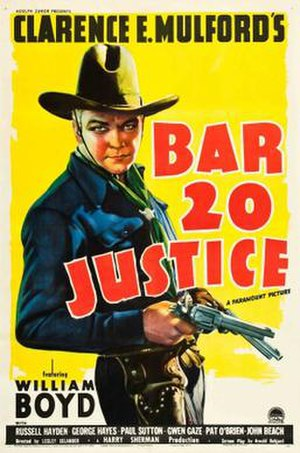 Bar 20 Justice - Theatrical release poster